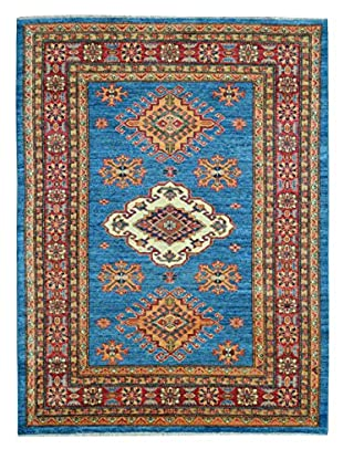 Kalaty One-of-a-Kind Kazak Rug, Blue, 3' 11