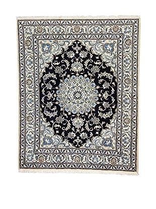 L'Eden del Tappeto Teppich Nain K beige/blau/schwarz 195t x t154 cm