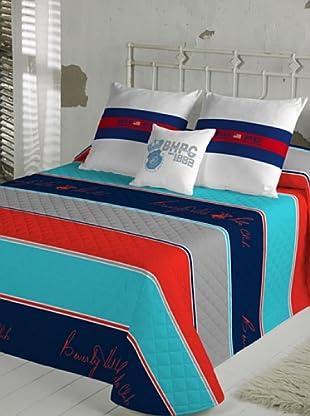 Beverly Hills Polo Club Colcha Bouti Minesota (Multicolor)
