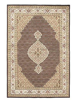 Hand-Knotted Tabriz Haj Jalili Wool & Silk Rug, 6' 2
