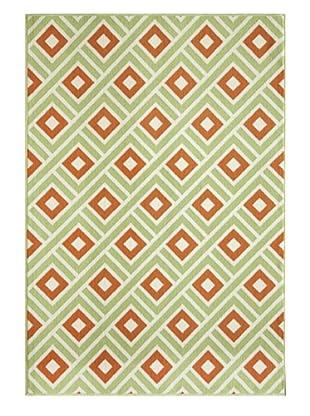 Momeni Baja Indoor/Outdoor Rug (Green)