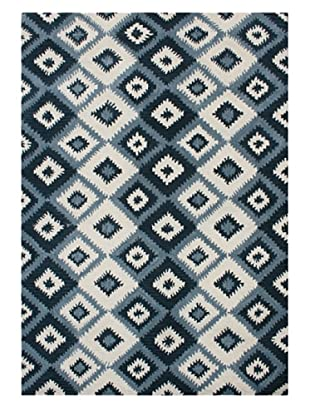 Alliyah Rugs New Zealand Wool Rug (Blue Multi)