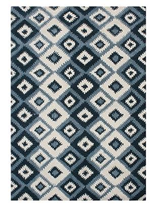 Alliyah Rugs New Zealand Wool Rug (Blue Multi)