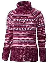 Columbia Women's Winter Worn II L/S Sweater L PINK