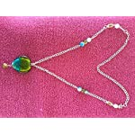 Multi Glass Alloy Crystal Fashion Necklace