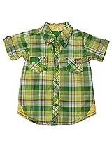 Absorba Boys' 3-6 Months Cotton Shirt (Green)