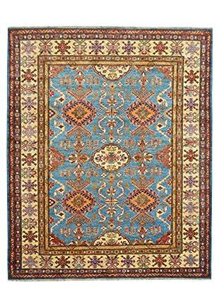 Kalaty One-of-a-Kind Kazak Rug, Blue, 5' x 6' 9