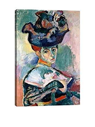 Henri Matisse's Woman in a Hat (1905) Giclée Canvas Print