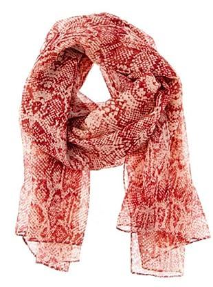 Cortefiel Foulard mit Pythonmuster (Rot)