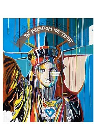 "Giorgio Casu-Lady Liberty, 26"" x 30"""