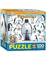 EuroGraphics Penguins Jigsaw Puzzle (100-Piece)