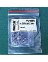 Master Club 1:35 Standard Hex Nut 1.2mm Head 0.8mm Body 70pc Resin #Mc435058