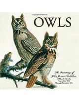 Owls 2015: 16-Month Calendar September 2014 through December 2015 (Calendars 2015)