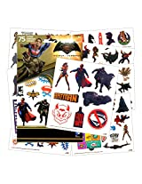 Dc Comics Dawn Of Justice Batman V Superman 75 Temporary Tattoos