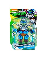 "Sdcc 2015 Teenage Mutant Ninja Turtles 11"" Metal Mutants Leonardo Action Figure"