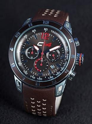 Carbon 14 E25 - Reloj Caballero Movimiento Quarzo Correa Piel Marrón