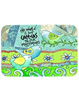 Caroline's Treasures PJC1098JCMT The World is But a Canvas to Our Imagination Kitchen or Bath Mat, 24 by 36 , Multicolor