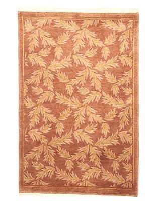 Roubini Tibetan Campo Hand Knotted Rug, Multi, 2' x 3'