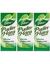 Dabur Pudin Hara - 30 ml (Pack of 3)