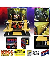 Kiss Alive Ii Stage & Action Figures Convention Exclusive