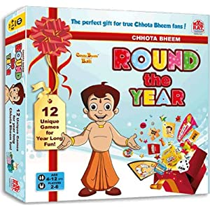 Madrat Games Chhota Bheem Round the Year, Multi Color