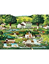 Buffalo Games Charles Wysocki: Country Gardens Jigsaw Bigjigs Puzzle (300 Large Piece)