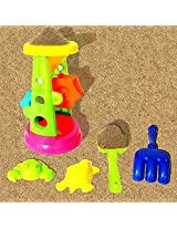 Toy Cubby Beach Fun And Sandbox Double Sand Wheels Play Set