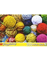 Puzzle Bug 300 Piece Puzzle ~ Colorful Balls Of Yarn