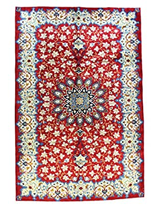 Bashian Rugs One-of-a-Kind Hand Knotted Persian Kashan Rug, Red, 7' 2