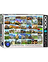 EuroGraphics Castles and Palaces Globetrotter Jigsaw Puzzle (1000 Piece)