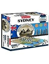 4 D Sydney, Australia Cityscape Time Puzzle