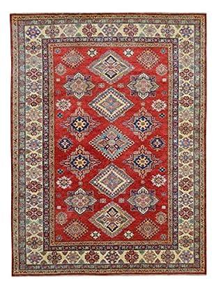 Kalaty One-of-a-Kind Kazak Rug, Red, 6' x 8' 11