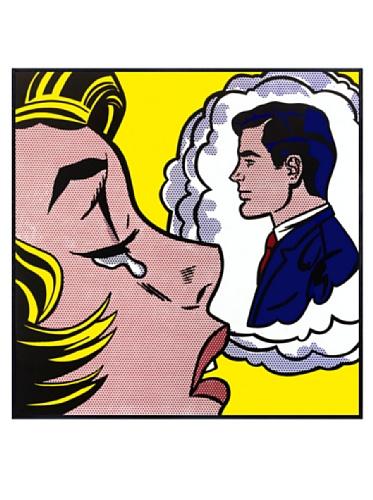 Lichtenstein - Thinking of Him, 1963, 22.5