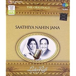 "The Originals-Lata-Rafi Duets""Saathiya Nahin Jana"""