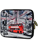 Amzer 7.0 - 7.75 Inches Designer Neoprene Sleeve Case for iPad/Tablet/e-Reader and Notebooks, London Red Bus (AMZ5249077)