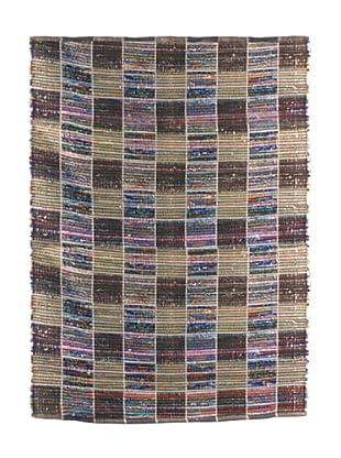 SIGNES DECORA Alfombra Cuadritos Multicolor 180X120