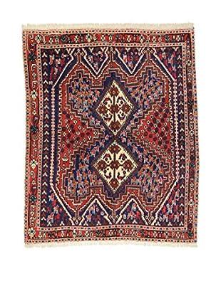 Eden Teppich   Afshari 142X172 mehrfarbig