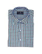 Fashionbean Multi-Colored Check Shirt for Men