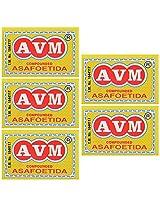 AVM Compounded Asafoetida Cake, 50 grams (Pack of 5)
