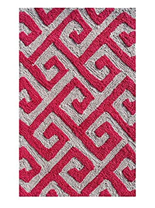 Pop Accents Greek Indoor/Outdoor Scatter Rug