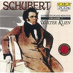 輸入盤 ワルター・クリーン独奏 シューベルト : ピアノ・ソナタ全集 Vol.1の商品写真