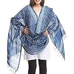 Indigo Cotton Silk Dupatta