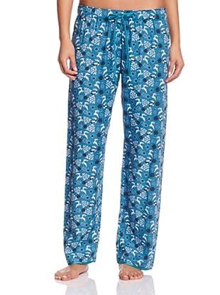 Cyberjammies Pantalón De Pijama Monets Storm (Turquesa / Azul)