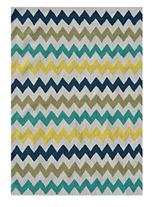 The Rug Market Chevron Rug (Multi)