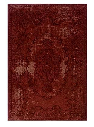 Granville Rugs Vintage Rug (Red/Brown)