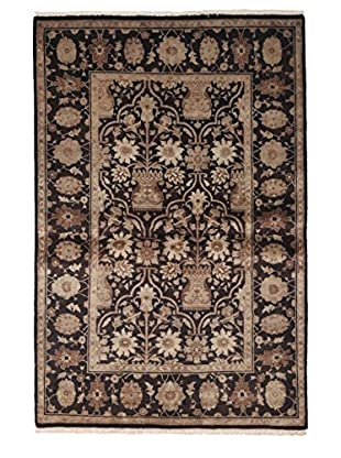 Darya Rugs Ottoman Oriental Rug, Brown, 4' 1