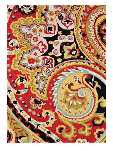 Loloi Rugs Francesca Collection Rug (Red/Black)