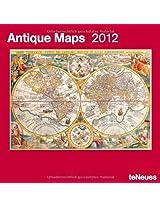 2012 Antique Maps Grid Calendar