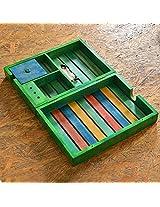 ExclusiveLane Multicoloured Wooden Table Top Organiser