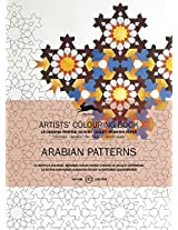 Arabian Patterns: Artists' Colouring Book (Pepin Artist Colouring Book)